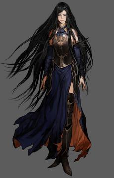 Castlevania Order of Ecclesia (Shanoa Artwork 01)