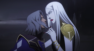 Castlevania anime episode 6 Hector et Carmellia
