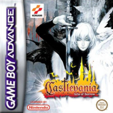 Castlevania Aria of Sorrow (boxart Pal)