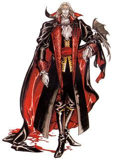 Castlevania Symphony of the Night (Dracula Artwork 2)