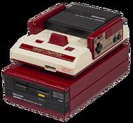 Nintendo Famicom Disk System (console + périphérique)