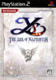 Ys The Ark of Napishtim - Boxart JP