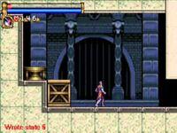Boite puzzle dans le jeu Castlevania Circle of the Moon