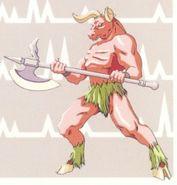 Minotaure-Castlevania Rondo of Blood