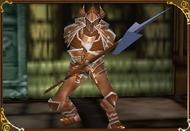 Chevalier des enfers de bronze avec une lance-Castlevania-LoD