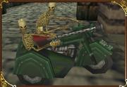 Skeleton Biker Castlevania 64 - Sidecar Type