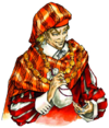 Castlevania Harmony of Dissonance (Merchant Artwork)