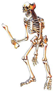 Squelette Géant Castlevania Artwork