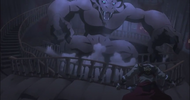 Castlevania anime episode 6 trevor VS le minotaure
