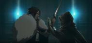Castlevania (anime)-Episode 03-Trevor et Sypha