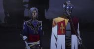 Castlevania anime episode 6 Hector et le prétre
