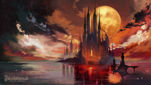 Bloodstained - Ritual of the Night (castle artwork)