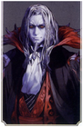 Castlevania Order of Ecclesia (Dracula Artwork 01)