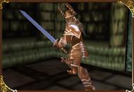 Chevalier des enfers de bronze avec une longue épée-Castlevania-LoD