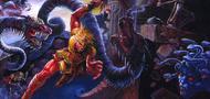 Super Castlevania IV PAL Version Cover Art