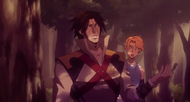 Castlevania Anime Episode 8 saison 2 Trevor et Sypha