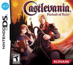 Castlevania Portrait of Ruin (Front cover Us)