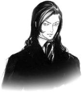 Genya Arikado Castlevania Croquis