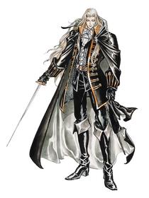Castlevania Symphony of the Night (Alucard Artwork 02)