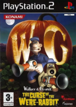 Wallace & Gromit PS2 Cover