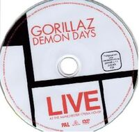Demon Days Live - Deluxe DVD