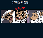 Spacemonkeyz gorillaz