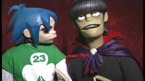 2-D & Murdoc Chat - Demon Days Live In Harlem
