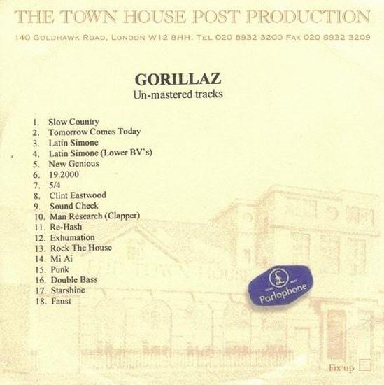 Gorillaz (Un-mastered Version) | Gorillaz Wiki | FANDOM powered by Wikia