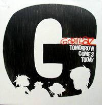 Gorillaz tomorrow 12vinyl cover big