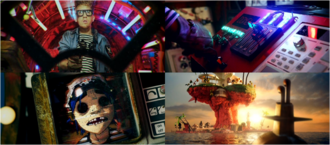 Four scenes from Doncamatic