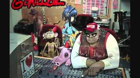 Gorillaz- Gor Beaten (Very Rare, unreleased)
