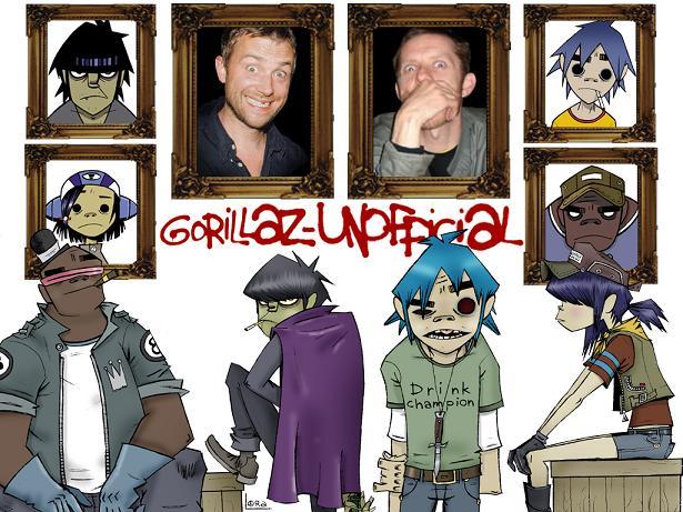 Gorillaz Unofficial | Gorillaz Wiki | FANDOM powered by Wikia