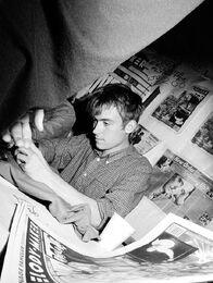 Young Damon Albarn of the 90s