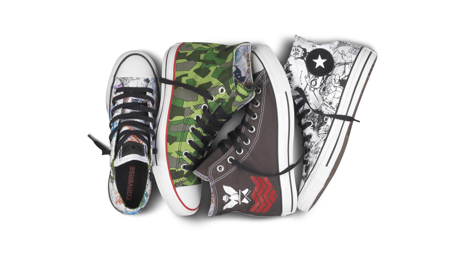 e8111e4c748c 2012 Chuck Taylor All-Stars Gorillaz Spring Collection