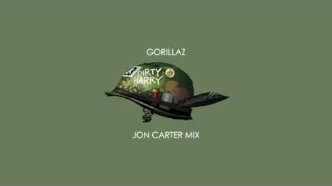 Gorillaz - Dirty Harry (Jon Carter Mix)