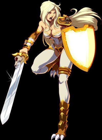 Helene, the Swordstress
