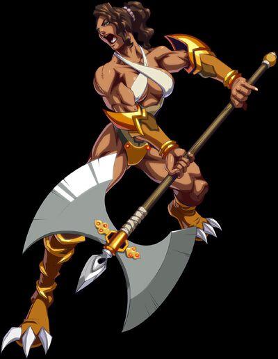 Ashi, the Axe Battler