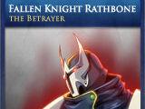 Fallen Knight Rathbone