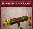 Scroll of Inner Focus