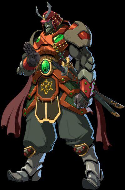 Onimaru, the Samurai