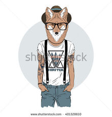 Furry hipster example