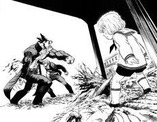 ATM-KM killing Akira with Solid Screw