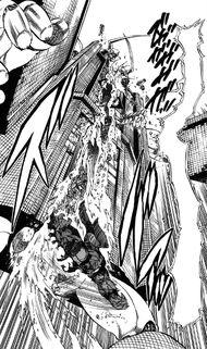 Akira destroying New Machine Banchou