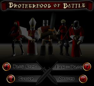 Brotherhood of Battle titlescreen