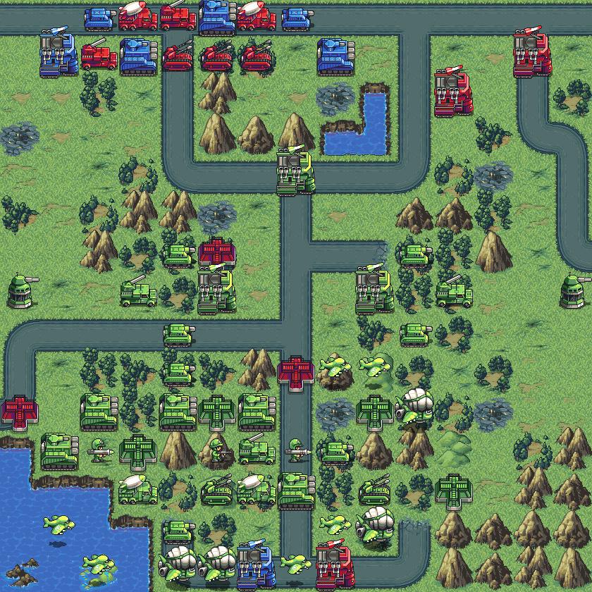 -4- Battalion Arena Mission Head to Head (hidden Stealth Tanks)