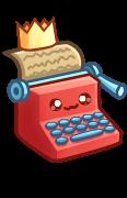 Typewriter shiny