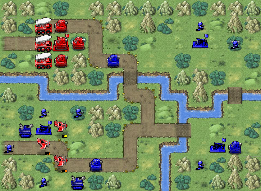 Battalion Nemesis Mission 3 Call in the Calvary Map