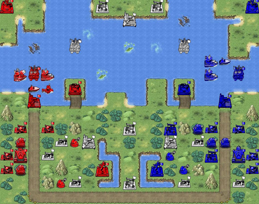 Battalion Nemesis Mission Bonus Map (hidden Steal Tanks and U-Boats)