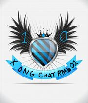 13879146-glossy-black-and-blue-shield-emblem-on-white-background