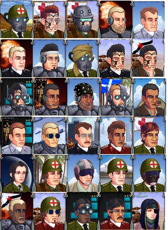 Battalion Arena Avatars